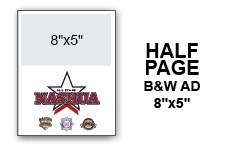 12U N.E. Regional Tournament Program Ad - Half Page B&W